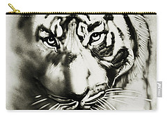 Sandy Tiger Carry-all Pouch