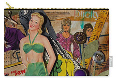 Sandy Carry-all Pouch by Virginia Coyle