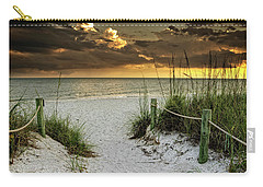 Sanibel Island Beach Access Carry-all Pouch