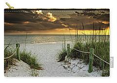 Sanibel Island Beach Access Carry-all Pouch by Greg Mimbs