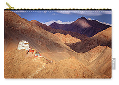 Carry-all Pouch featuring the photograph Sankar Monastery by Alexey Stiop