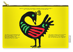 Sankofa Bird Of Knowledge Carry-all Pouch