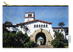 Santa Barbara Courthouse -by Linda Woods Carry-all Pouch by Linda Woods