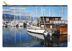 Carry-all Pouch featuring the photograph Santa Barbara Harbor by Kyle Hanson