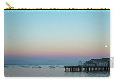 Santa Barbara Pier At Dusk Carry-all Pouch