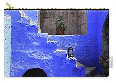 Santa Catalina Monastery, Arequipa, Peru Carry-all Pouch by Aidan Moran