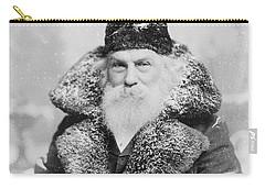 Santa Claus Carry-all Pouch by David Bridburg