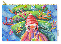 Santa Crab Carry-all Pouch