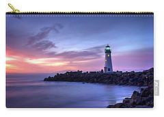 Santa Cruz Harbor Mouth Sunrise Carry-all Pouch