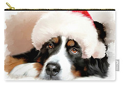 Santa Dog Carry-all Pouch