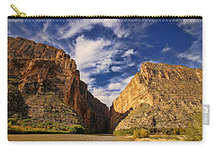 Santa Elena Canyon 3 Carry-all Pouch by Judy Vincent