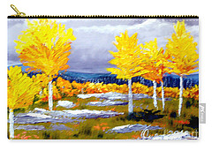 Santa Fe Aspens Series 2 Of 8 Carry-all Pouch