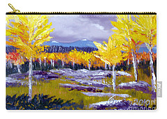 Santa Fe Aspens Series 4 Of 8 Carry-all Pouch