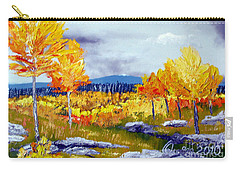 Santa Fe Aspens Series 6 Of 8 Carry-all Pouch