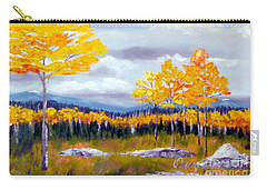 Santa Fe Aspens Series 8 Of 8 Carry-all Pouch