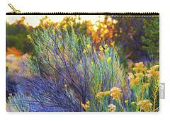 Carry-all Pouch featuring the photograph Santa Fe Beauty by Stephen Anderson