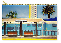 Santa Fe Depot Carry-all Pouch by Karyn Robinson