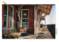 Santa Fe Depot Of Guthrie Carry-all Pouch