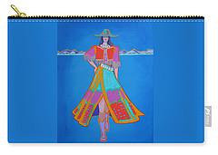 Santa Fe Girl  Carry-all Pouch