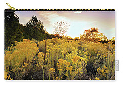 Carry-all Pouch featuring the photograph Santa Fe Magic by Stephen Anderson