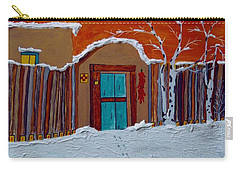 Santa Fe Snowstorm Carry-all Pouch