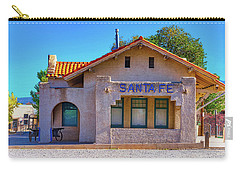 Santa Fe Station Carry-all Pouch by Stephen Anderson