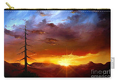 Santa Fe Sunset Carry-all Pouch