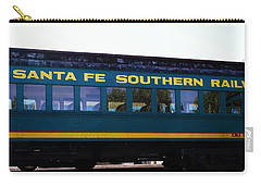 Santa Fe Train Carry-all Pouch by Joseph Frank Baraba