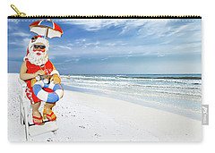 Santa Lifeguard Carry-all Pouch