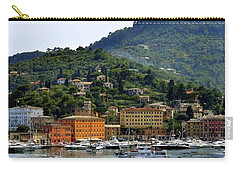 Carry-all Pouch featuring the photograph Santa Margherita Ligure by Corinne Rhode