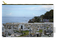 Santa Maria Magdalena De Pazzis Cemetery, Old San Juan Carry-all Pouch by Lois Lepisto