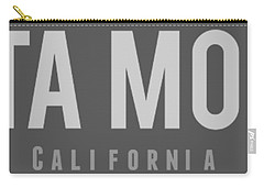 Santa Monica California Carry-all Pouch