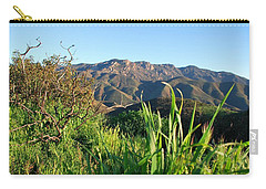 Santa Monica Mountains Green Landscape Carry-all Pouch