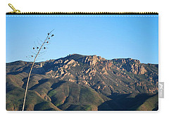 Carry-all Pouch featuring the photograph Santa Monica Mountains View  by Matt Harang