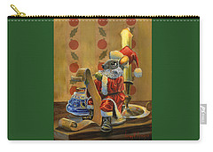Santa Mouse Carry-all Pouch by Jeff Brimley