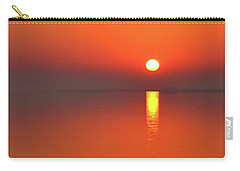 Santa Rosa Sound Sunrise Minimalism Panoramic Carry-all Pouch