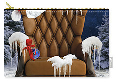 Santa's Chair Carry-all Pouch
