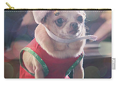 Carry-all Pouch featuring the photograph Santa's Little Helper by Laurie Search