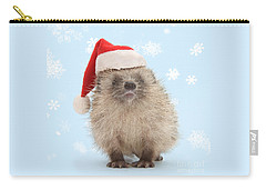 Santa's Prickly Pal Carry-all Pouch