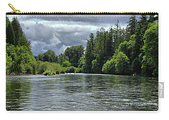 Santiam River Fishing Carry-all Pouch