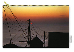 Santorini Carry-all Pouch by David Gilbert