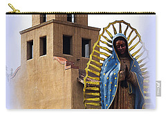 Carry-all Pouch featuring the photograph Santuario De Guadalupe Santa Fe New Mexico by Kurt Van Wagner