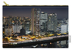 Sao Paulo Iconic Skyline - Cable-stayed Bridge  Carry-all Pouch