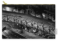 Sao Paulo - Metallic Footbridge At Night Carry-all Pouch