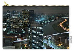 Sao Paulo Skyline Modern Corporate Districts Brooklin Morumbi Chacara Santo Antonio Carry-all Pouch