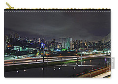 Sao Paulo Skyline - Ponte Estaiada Octavio Frias De Oliveira Wit Carry-all Pouch