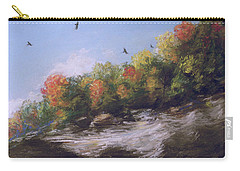 Soaring Over The North Rim, Autumn Carry-all Pouch