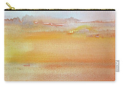 Sapphire Sunrise Autumn Carry-all Pouch