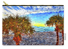 Sarasota Beach Florida Carry-all Pouch by Joan Reese