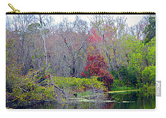 Carry-all Pouch featuring the photograph Sarasota Reflections by Madeline Ellis